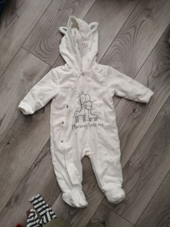 Kombinezon pajacyk niemowlęcy rozm 68