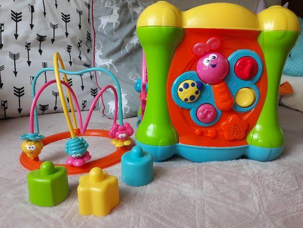 Smiki kostka interaktwna zabawka edukacyjna