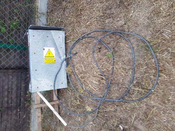 Skrzynka elektryczna kompletna z kablem ziemnym