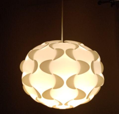 Zestaw lamp wiszących Ikea Fillsta + stojąca lampa