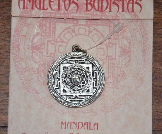 Símbolo Budista Mandala - Pendente para Colar