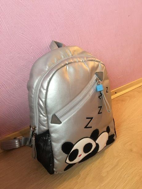 школьный рюкзак экокожа