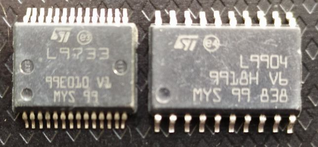 Мікросхема freescale 9904 L9904 sop-20 9733 L9733 sop-28