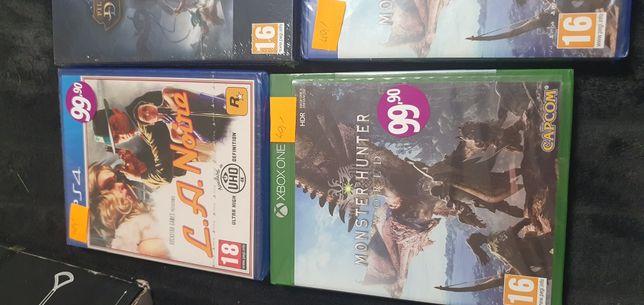 Gry na Xbox i PS4 nowe