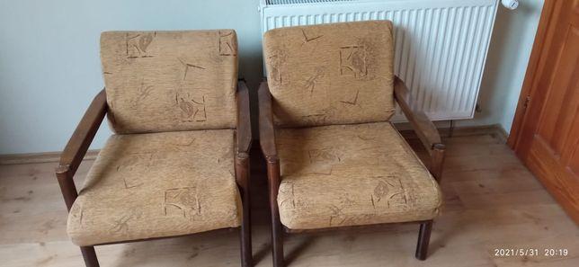 Fotele retro 4 sztuki