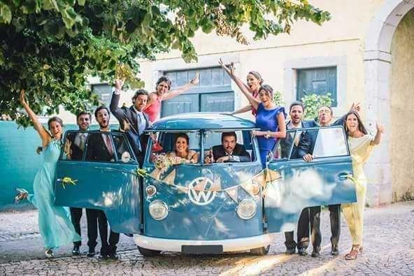 VW Carrinha Pão de Forma (1963) para eventos