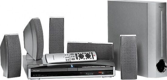 Sistema home cinema PIONEER XV-DV313