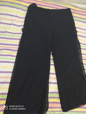 Юбка-брюки шифоновая р-р 48-50,вечерняя, нарядная (Турция)