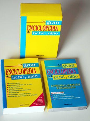 La gran enciclopedia del bebé y niño - zestaw po hiszpańsku