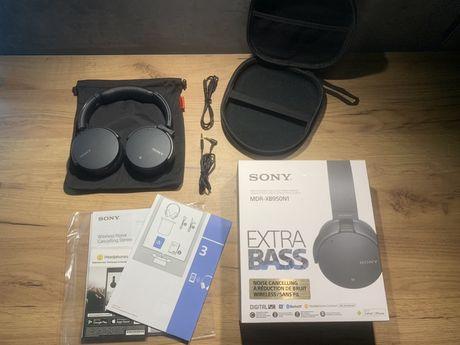 Sluchawki Sony mdr-xb950n1 czarne + etui