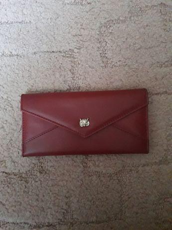 Красный кошелёк       .