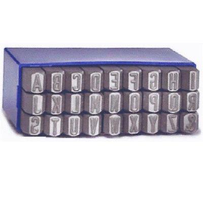 Caixa 27 Punções Marcadores Abecedário Alfabeto 6 mm Cascais - imagem 1