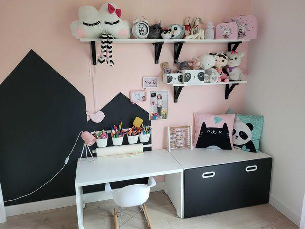 Meble do pokoju dziecięcego+łóżeczko rosnące z dzieckiem Ikea