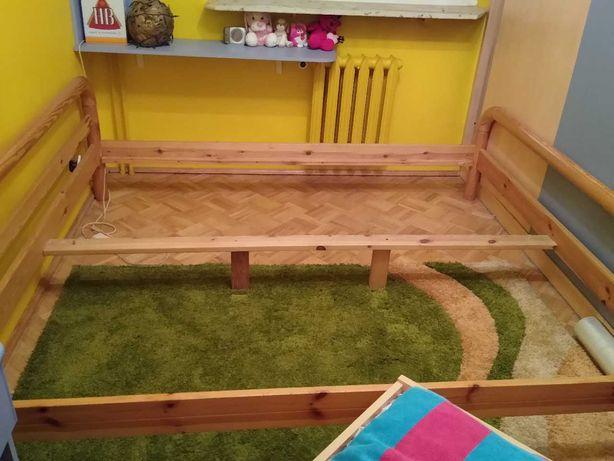 Łóżko Delta - z litego drewna sosnowego 180 x 200 -  stan idealny