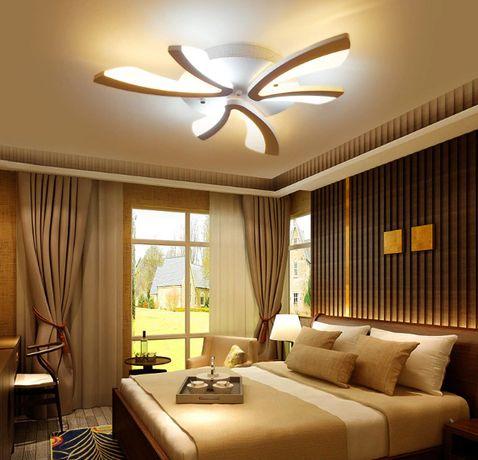 LAMPA sufitowa LED PLAFON żyrandol EKO LED