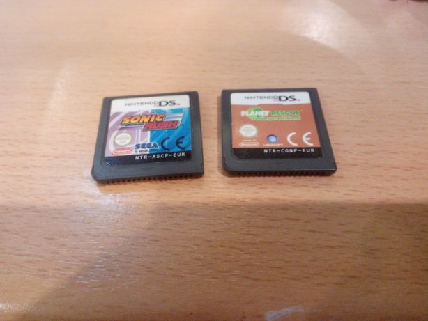 Dwie gry Nintendo DS Sonic Rush i Planet Rescue