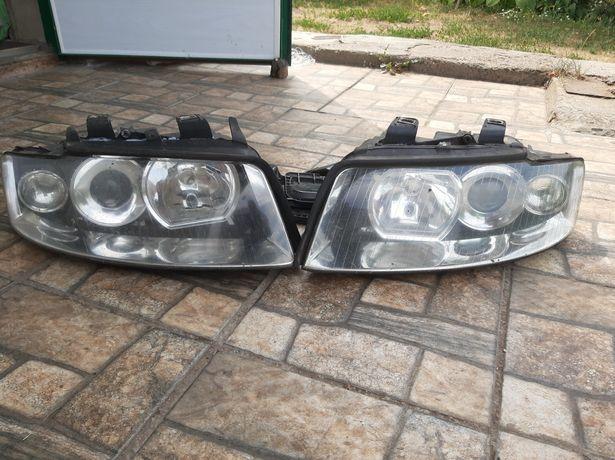 Фары оптика Audi A4B6