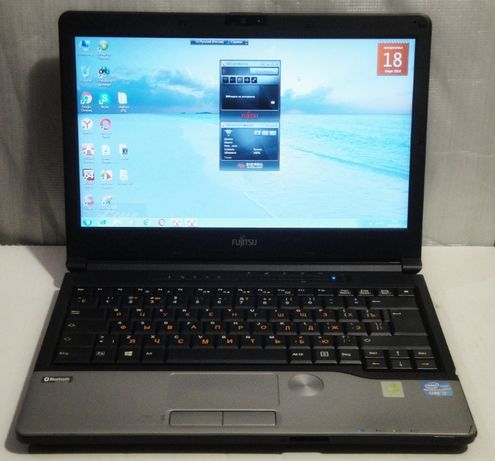 """Fujitsu S762 /i5-3320M/13.3"""", память, жесткий HDD, зарядка - разборка"""