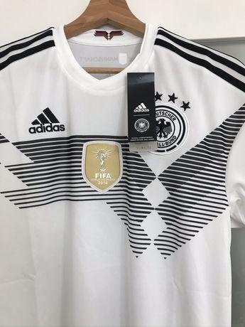 Koszulka sportowa Adidas S Mistrzostwa Swiata 2014 DFB
