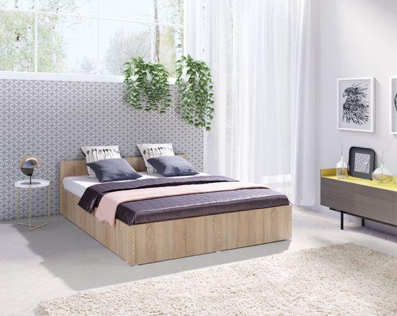 Łóżko z MATERACEM 160-200 Nowa Sypialnia najtaniej od producenta
