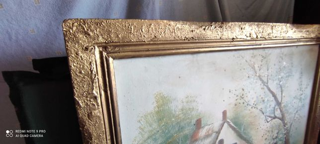 Quadros em tela antigos