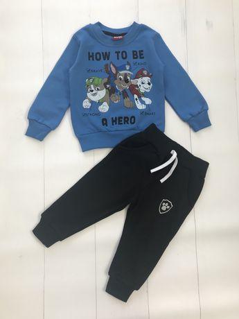 Komplet dresowy chlopięcy Psi Patrol bluza spodnie r. 80 86