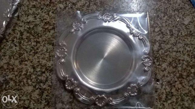Salva de prata nova