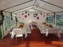 imprezowe - Namioty, stoły, krzesła, podłogi, grill, parasole, wynajem