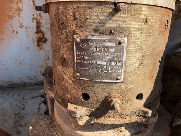 Продам электродвигатель электро мотор привод на 24 В