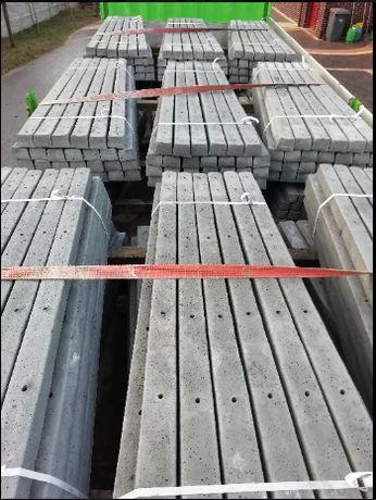 Słupki betonowe ogrodzeniowe , szpalerowe PRODUCENT