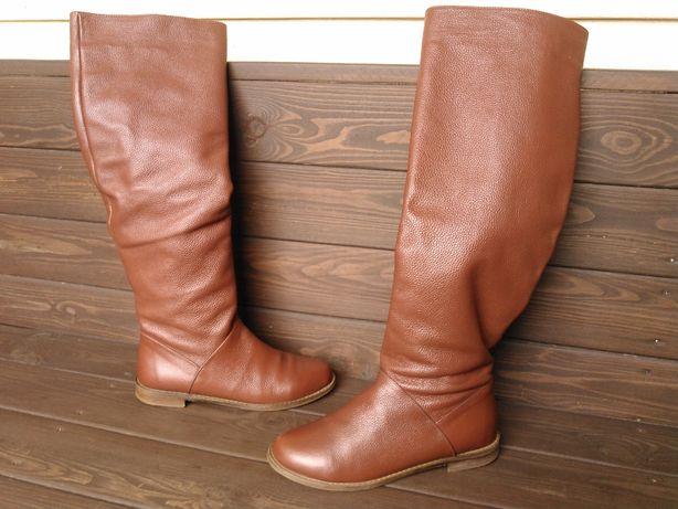 Сапоги кожаные (36 - 23.5 см)
