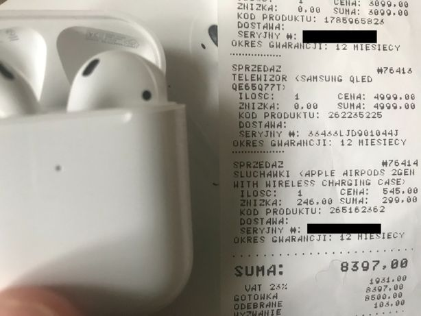 NEW Original Apple Airpods 2 Оригинал Эпл Аирподс 2