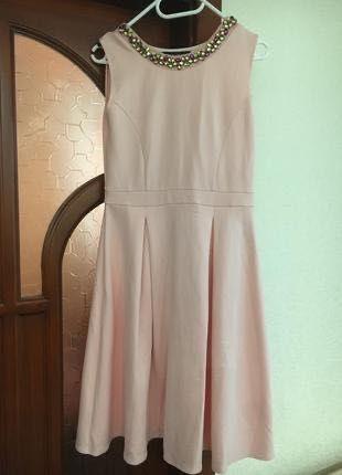 Платье пудровое dorothy perkins