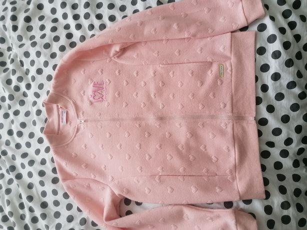 Sweter, bluza różowa