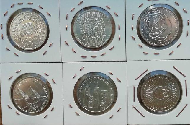 500$00 prata conjunto completo