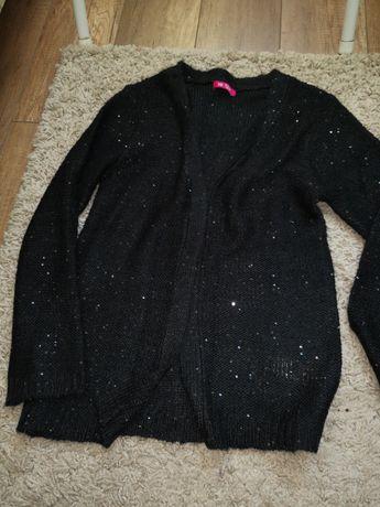 Sweterek dziewczęcy z cekinami 158 cm