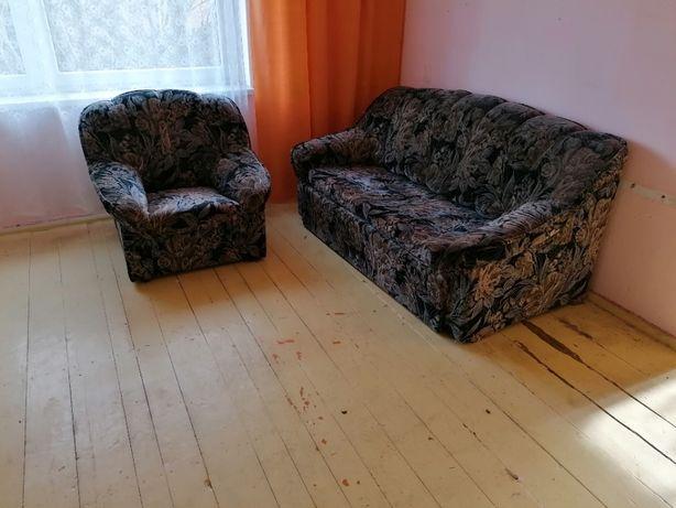 Komplet wypoczynkowy , wersalki , fotel za darmo