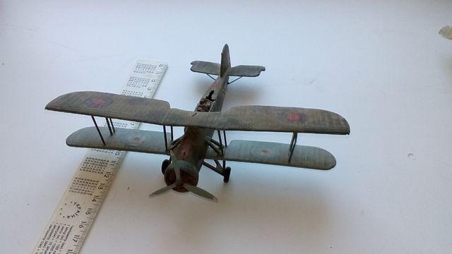 Модель самолета Fairey Swordfish
