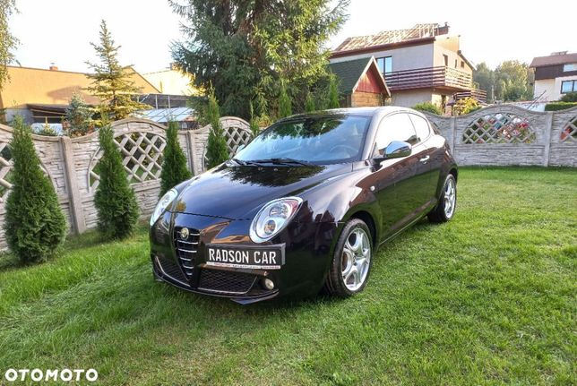 Alfa Romeo Mito 1.4 Turbo 95 KM Servis_Jak Nowy_Orginał.