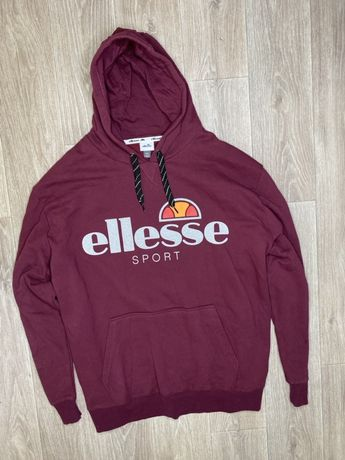 Ellesse sport балахон оригинал 4xl огоромный кофта с капюшоном элис
