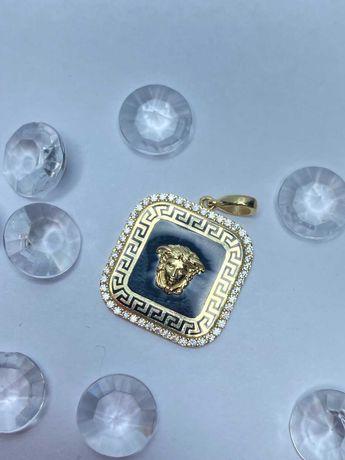 wyjątkowa złota zawieszka Versace p585 4,79g