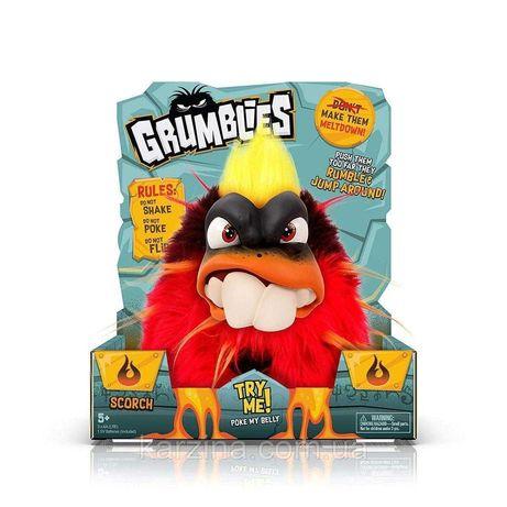 Grumblies Scorch Red Вулкан Скорч интерактивная игрушка Ферби