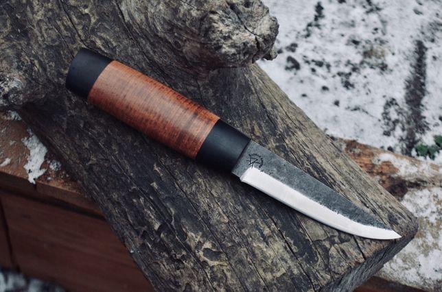 Нож финка, кованый нож, нож ручной работы