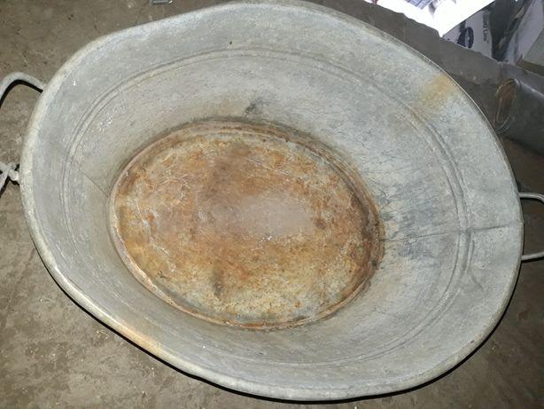 Balia donica ocynk metalowa duża