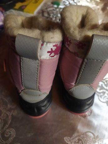 Зимові дитячі черевики