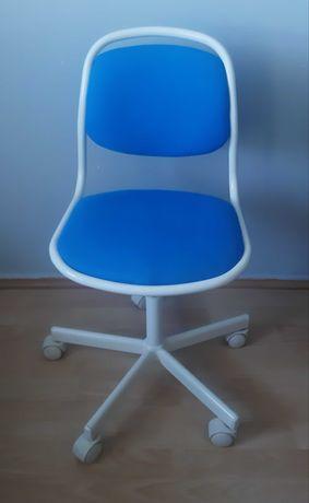 Fotel dla dziecka krzesło obrotowe do biurka  IKEA Oerfjaell stan bdb