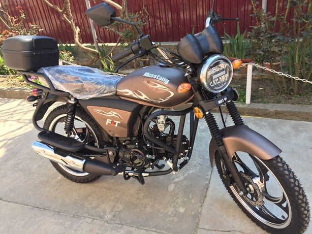 Новий мотоцикл Alpha 125 куб Mustang