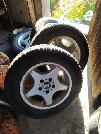 Koła Alu felgi 16 5x120 BMW zimowe