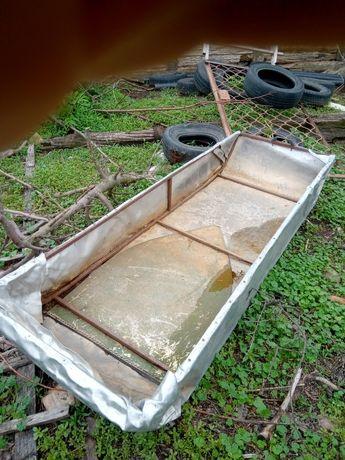 Лодка алюмінієва саморобна