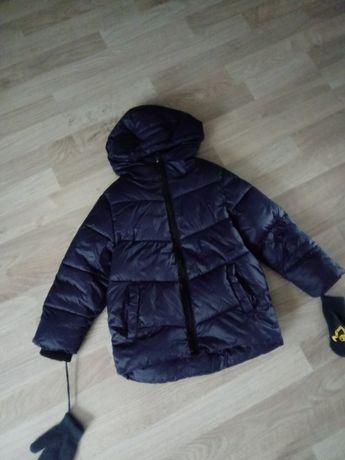 Granatowa kurtka zimowa Cool Club Smyk 104
